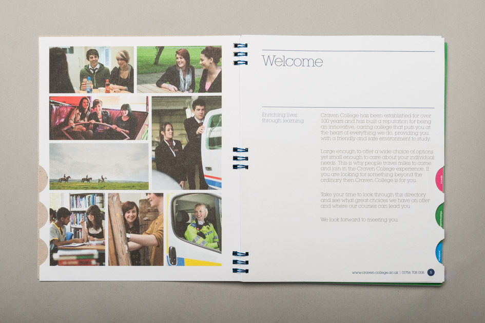 Craven College Further Education Prospectus Print