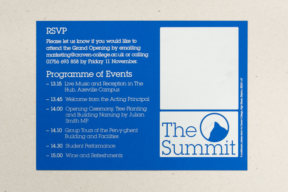 The Summit Invitation Print