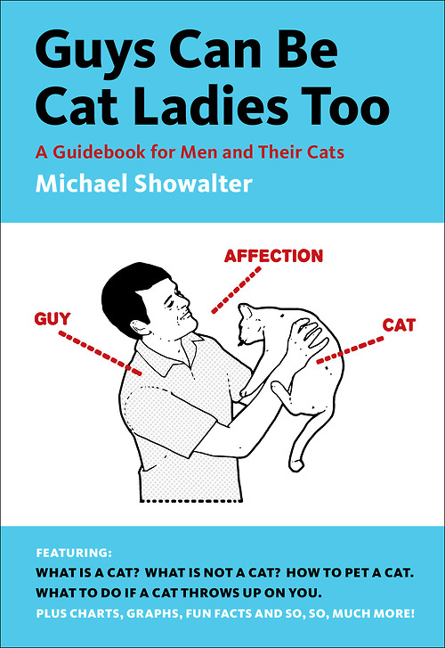 Guys Can Be Cat Ladies Too Illustration Graphic Design